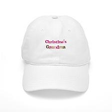 Christine's Grandma Baseball Cap