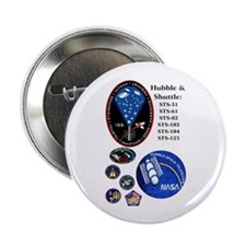 """Hubble Composite 2.25"""" Button"""