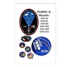 Hubble Composite Postcards (Package of 8)