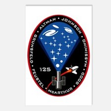 STS 125 Atlantis Postcards (Package of 8)