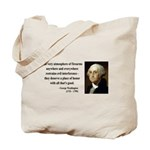 George Washington 13 Tote Bag