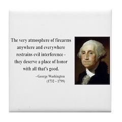 George Washington 13 Tile Coaster