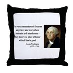 George Washington 13 Throw Pillow