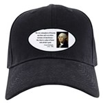 George Washington 13 Black Cap