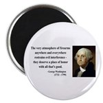 George Washington 13 Magnet
