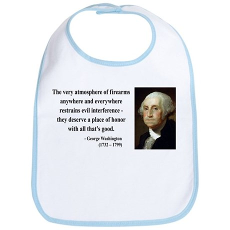 George Washington 13 Bib