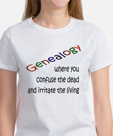 Genealogy Confusion (black) Tee