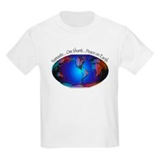 Namaste, Peace on Earth T-Shirt