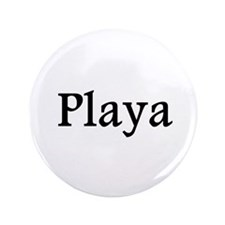 "Playa red 3.5"" Button (100 pack)"