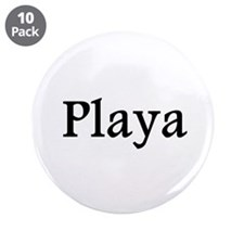 """Playa red 3.5"""" Button (10 pack)"""