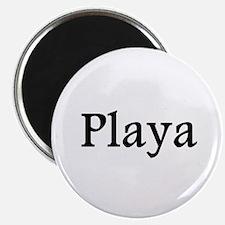 "Playa red 2.25"" Magnet (10 pack)"