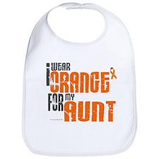 I Wear Orange For My Aunt 6 Bib