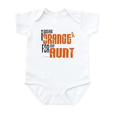 I Wear Orange For My Aunt 6 Infant Bodysuit