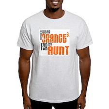 I Wear Orange For My Aunt 6 T-Shirt
