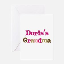 Doris's Grandma Greeting Card