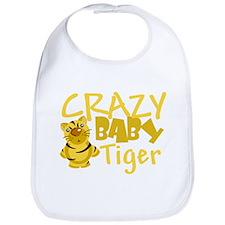 Crazy Baby Tiger Bib