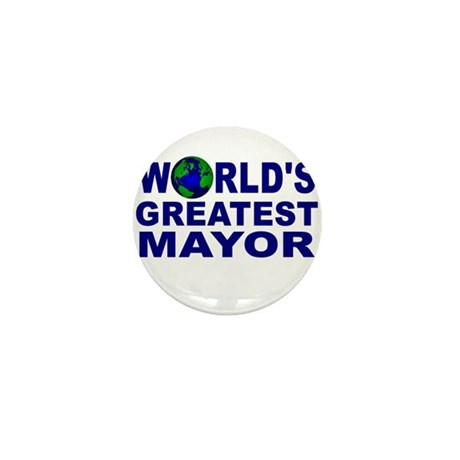 World's Greatest Mayor Mini Button (10 pack)