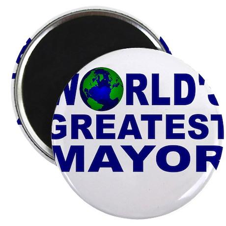 World's Greatest Mayor Magnet