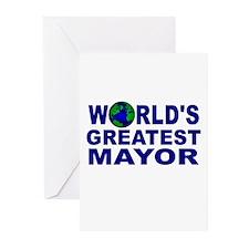 World's Greatest Mayor Greeting Cards (Pk of 10)