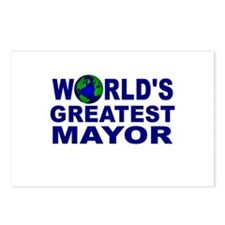 World's Greatest Mayor Postcards (Package of 8)