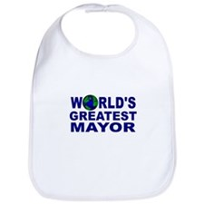 World's Greatest Mayor Bib