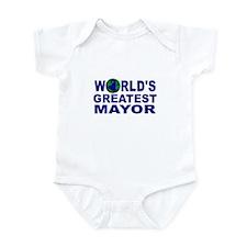 World's Greatest Mayor Infant Bodysuit