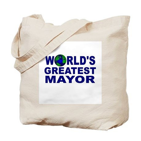 World's Greatest Mayor Tote Bag