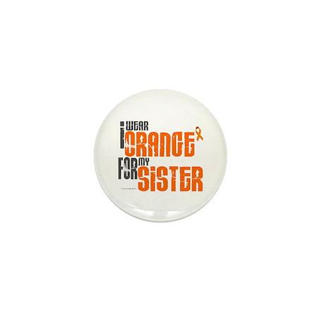 I Wear Orange For My Sister 6 Mini Button