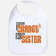 I Wear Orange For My Sister 6 Bib