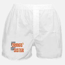 I Wear Orange For My Sister 6 Boxer Shorts