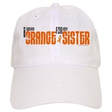 I Wear Orange For My Sister 6 Baseball Cap