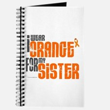 I Wear Orange For My Sister 6 Journal
