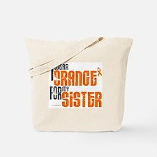 I Wear Orange For My Sister 6 Tote Bag