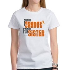 I Wear Orange For My Sister 6 Tee
