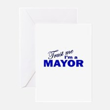 Trust Me I'm a Mayor Greeting Cards (Pk of 10)