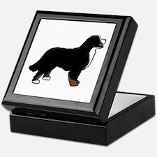 Tri Color Bernese Dog Keepsake Box