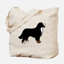 Tri Color Bernese Dog Tote Bag