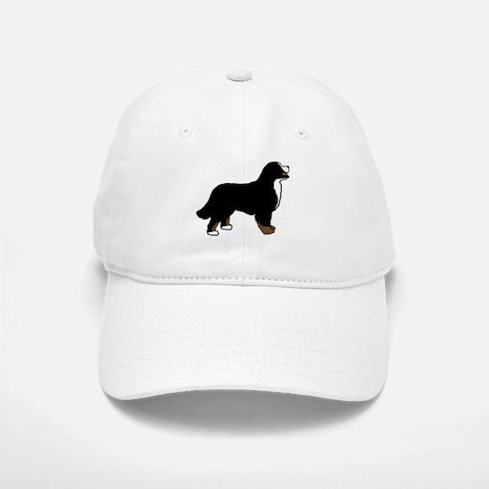 Tri Color Bernese Dog Baseball Baseball Cap