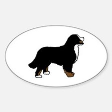 Tri Color Bernese Dog Decal