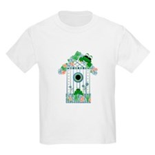 Lilly's Pad Bird House Kids T-Shirt