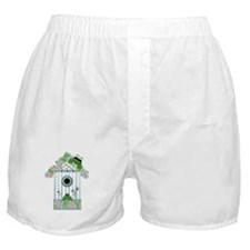 Lilly's Pad Bird House Boxer Shorts