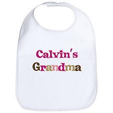 Calvin's Grandma Bib