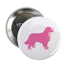 "Tri Color Pink Bernese 2.25"" Button"