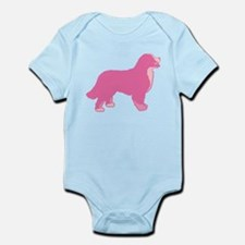 Tri Color Pink Bernese Infant Bodysuit