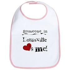 Louisville Loves Me Bib