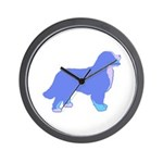 Tri Colorful Bernese Wall Clock