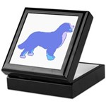 Tri Colorful Bernese Keepsake Box