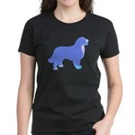 Tri Colorful Bernese Women's Dark T-Shirt