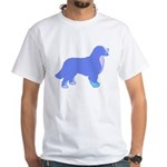 Tri Colorful Bernese White T-Shirt