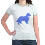 Tri Colorful Bernese Jr. Ringer T-Shirt